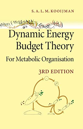 9780521131919: Dynamic Energy Budget Theory for Metabolic Organisation 3rd Edition Paperback