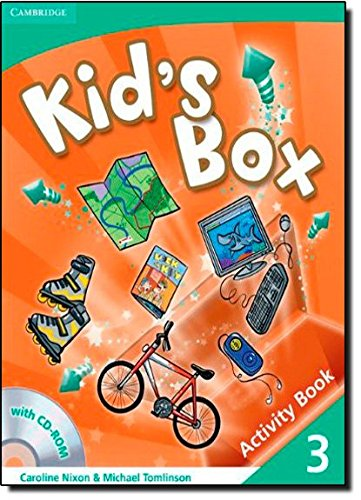 9780521131933: Kid's Box 3 Activity Book with CD-ROM