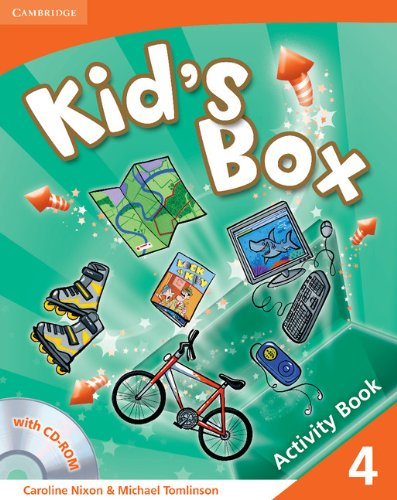 9780521131940: Kid's Box 4 Activity Book with CD-ROM