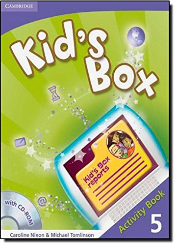9780521131964: Kid's Box 5 Activity Book with CD-ROM
