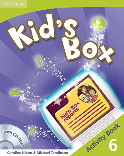 9780521131988: Kid's Box Level 6 Activity Book with CD-ROM