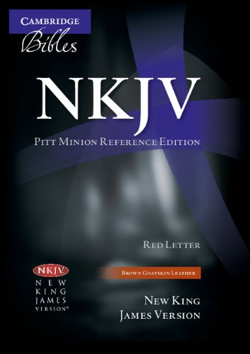 9780521132169: NKJV Pitt Minion Reference Edition NK446XR Brown Goatskin Leather