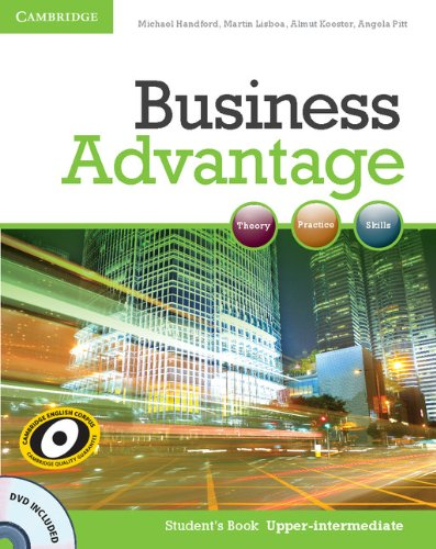 9780521132176: Business Advantage. Level B2 Student's Book. Con DVD-ROM