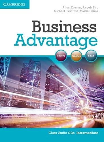 Business Advantage Intermediate Audio CDs (2): Almut Koester, Angela