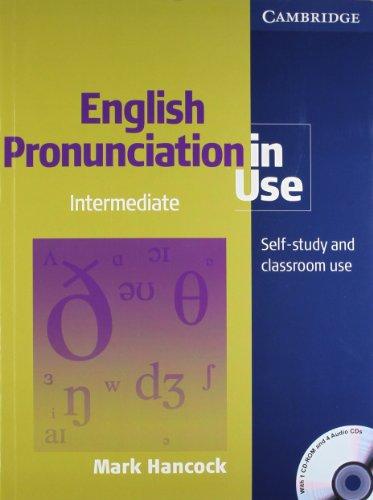 9780521132312: English Pronunciation In Use Intermediate W/1Cd-Rom & 4Acd (South Asian Edition)