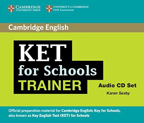 9780521132398: KET for Schools Trainer Audio CDs (2) (Authorised Practice Tests)