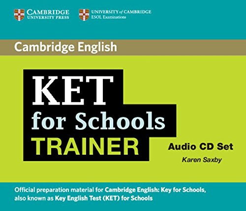 9780521132398: KET for Schools Trainer Audio CDs (2) (Authored Practice Tests)