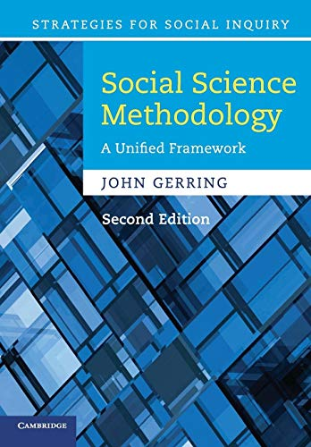 9780521132770: Social Science Methodology: A Unified Framework (Strategies for Social Inquiry)