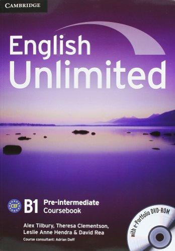 9780521132848: English unlimited. Pre-intermediate. Student's book with answers. Con espansione online. Per le Scuole superiori. Con DVD-ROM: 2