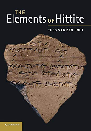 9780521133005: The Elements of Hittite (English and Hittite Edition)