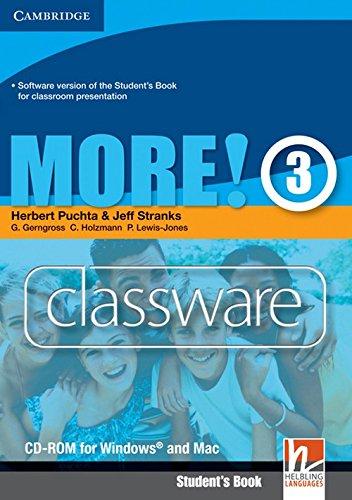 More! Level 3 Classware CD-ROM: Level 3: Herbert Puchta, Jeff Stranks, G�nter Gerngross