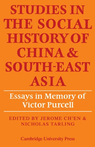 9780521133746: Studies in the Social History of China and South-East Asia: Essays in Memory of Victor Purcell
