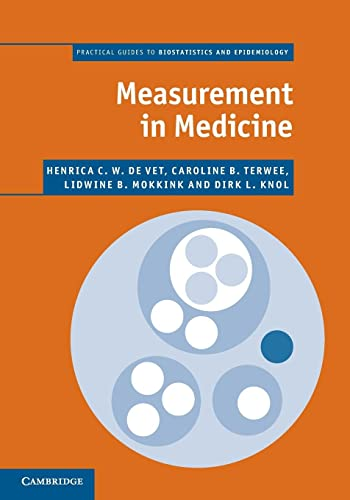 9780521133852: Measurement in Medicine: A Practical Guide (Practical Guides to Biostatistics and Epidemiology)