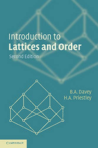 9780521134514: Introduction to Lattices and Order South Asian Edition 2E [Paperback] DAVEY