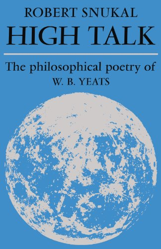 9780521134637: High Talk: The Philosophical Poetry of W. B. Yeats