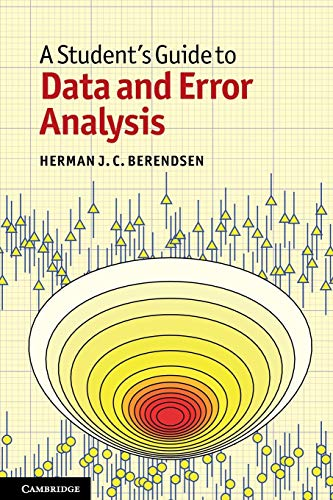 9780521134927: A Student's Guide to Data and Error Analysis