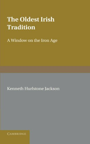 9780521134934: The Oldest Irish Tradition: A Window on the Iron Age