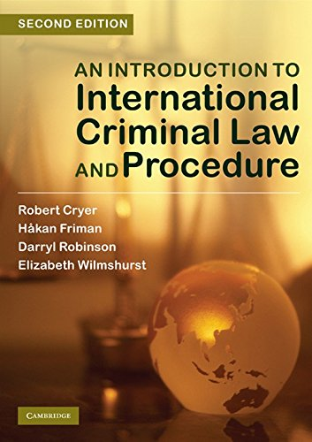 9780521135818: An Introduction to International Criminal Law and Procedure