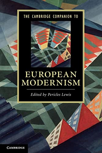 9780521136075: The Cambridge Companion to European Modernism (Cambridge Companions to Literature)