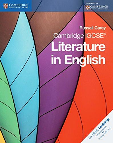 9780521136105: Cambridge IGCSE Literature in English (Cambridge International Examinations)