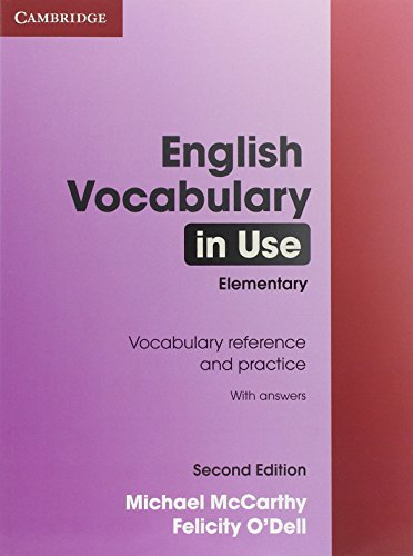9780521136174: English Vocabulary in Use Elementary with Answers