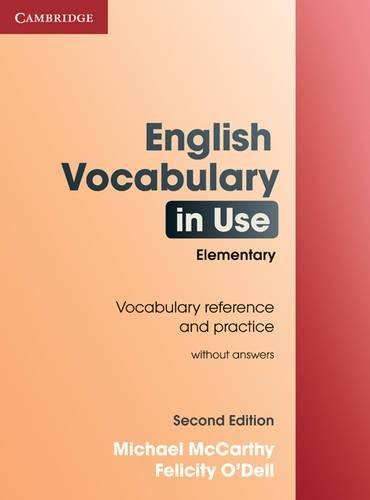 9780521136198: English vocabulary in use. Elementary. Book without answers. Con espansione online. Per le Scuole superiori
