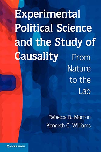 9780521136488: Experimental Political Science and the Study of Causality Paperback