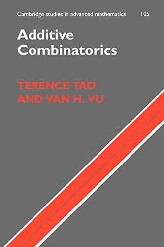 9780521136563: Additive Combinatorics