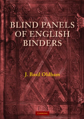 9780521136624: Blind Panels of English Binders