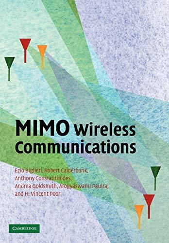 9780521137096: MIMO Wireless Communications