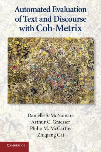 9780521137294: Automated Evaluation of Text and Discourse with Coh-Metrix