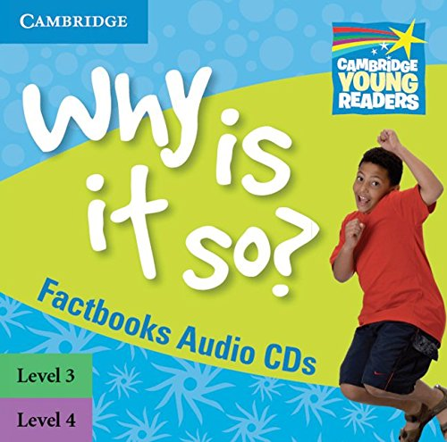 9780521137492: Why Is It So? Levels 3-4 Factbook Audio CDs (2) (Cambridge Young Readers)