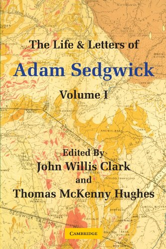 9780521137706: The Life and Letters of Adam Sedgwick: Volume 1
