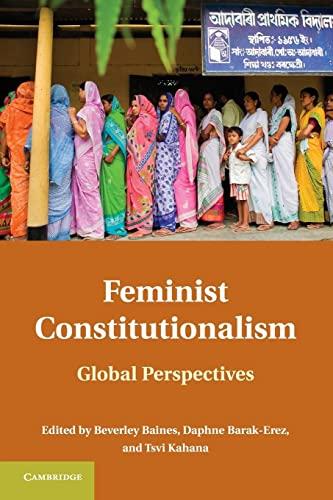 9780521137799: Feminist Constitutionalism: Global Perspectives