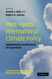 9780521137850: Post-Kyoto International Climate Policy: Implementing Architectures for Agreement