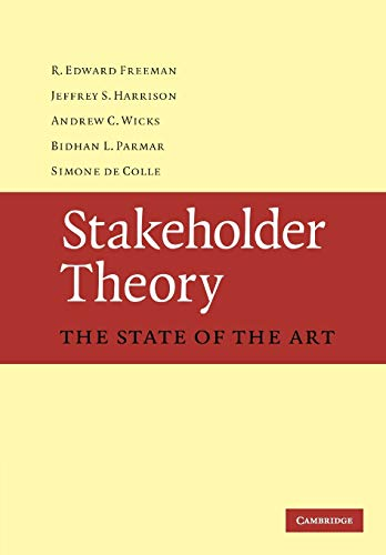 9780521137935: Stakeholder Theory: The State of the Art