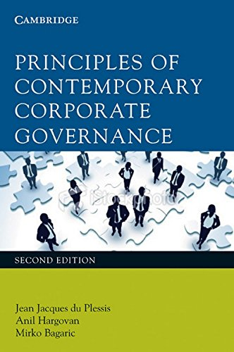 Principles of Contemporary Corporate Governance: Jean Jacques du