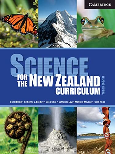 Science for the New Zealand Curriculum Years 9 and 10 Teacher CD-Rom (Compact Disc): Donald Reid