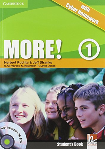 9780521138277: More! Level 1 Student's Book with Interactive CD-ROM with Cyber Homework