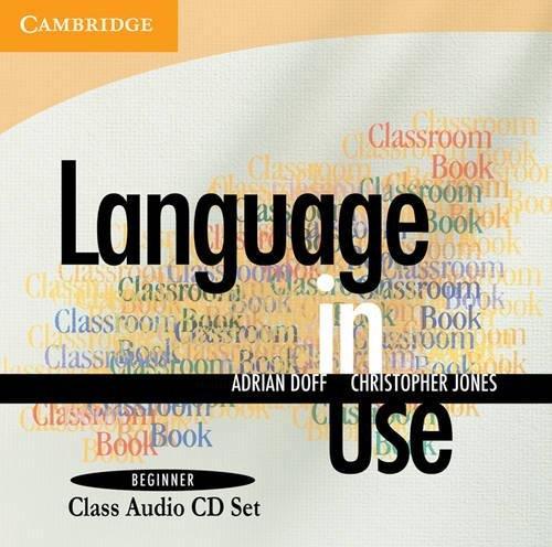 9780521139106: Language in Use Beginner Class Audio CDs (2)
