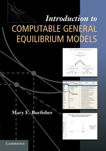 9780521139779: Introduction to Computable General Equilibrium Models Paperback