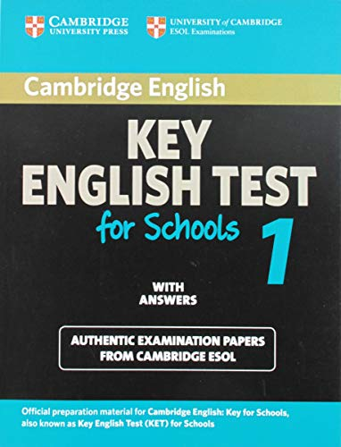 9780521139922: Cambridge Key English Test for Schools 1 Student's Book with answers (KET Practice Tests)