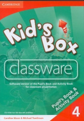 9780521140249: Kid's Box 4 Classware CD-ROM - 9780521140249