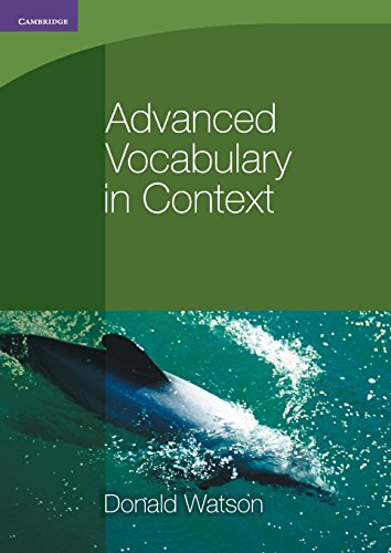 9780521140409: Advanced Vocabulary in Context (Georgian Press)