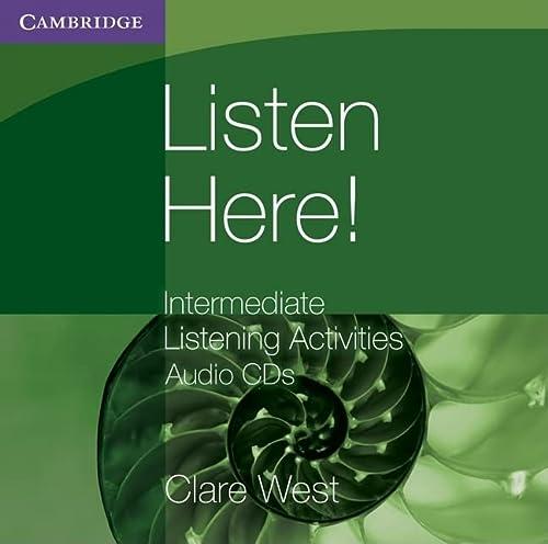 9780521140423: Listen Here! Intermediate Listening Activities CDs (Georgian Press)