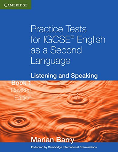 Practice Tests for IGCSE English as a: Barry, Marian
