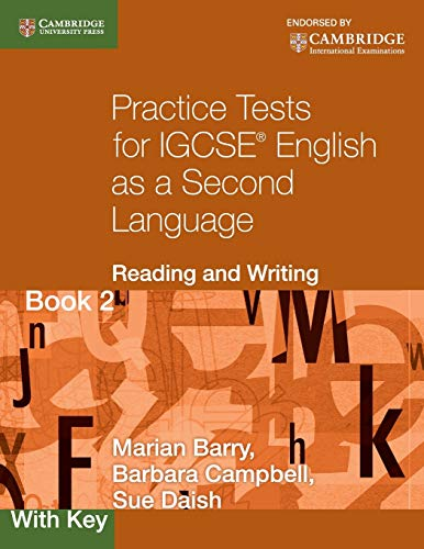 9780521140652: Practice tests for IGCSE. English as a second language: reading and writing. With key. Con espansione online. Per le Scuole superiori: 2 (Cambridge International IGCSE)