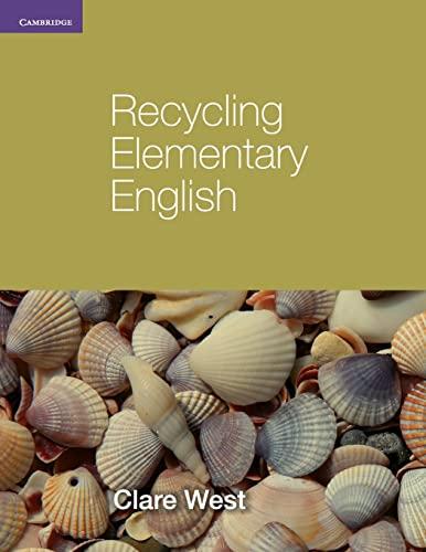 9780521140782: Recycling Elementary English (Georgian Press)