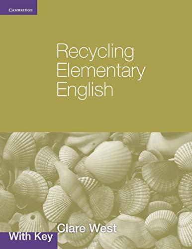 9780521140799: Recycling Elementary English with Key (Georgian Press)