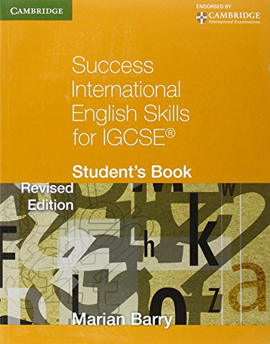 9780521140867: Success International English Skills for IGCSE Student's Book (Cambridge International IGCSE)